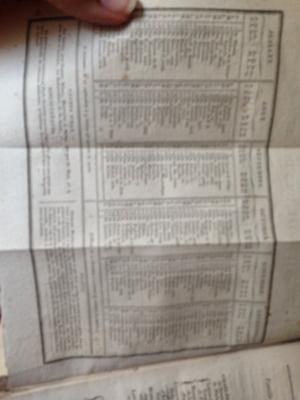 Alamanach des 25,000 Adresses Paris 1825