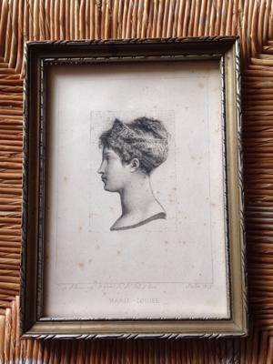 Marie-Louise Engraving