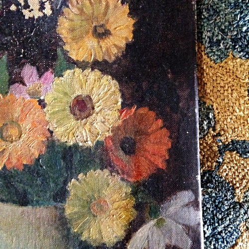 French floral painting 1930s
