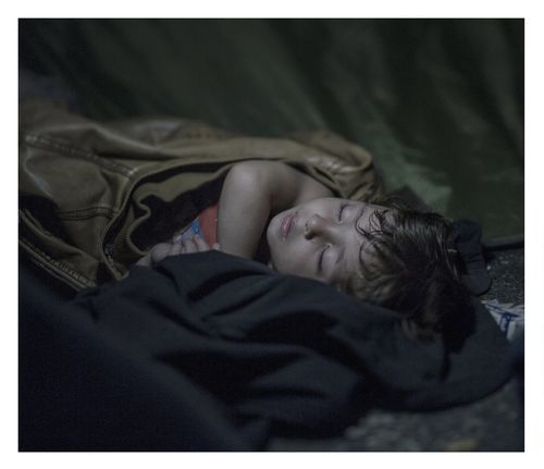 Swedish photographer and twice-winner of the World Press Photo awards Magnus Wennman has been photographing Syrian refugees