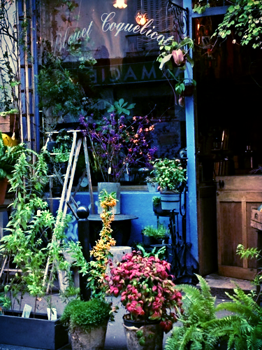 flower stand paris