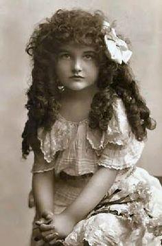 Vintage rag curl