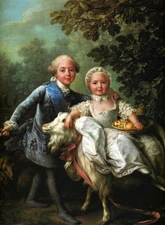 Children of Marie Antoinette France