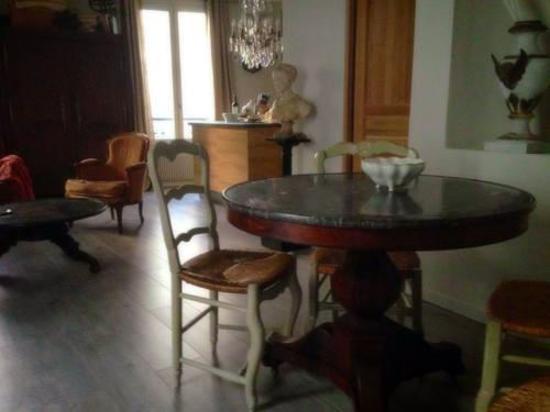 Creating a home with antiques, paris apartment, corey amaro