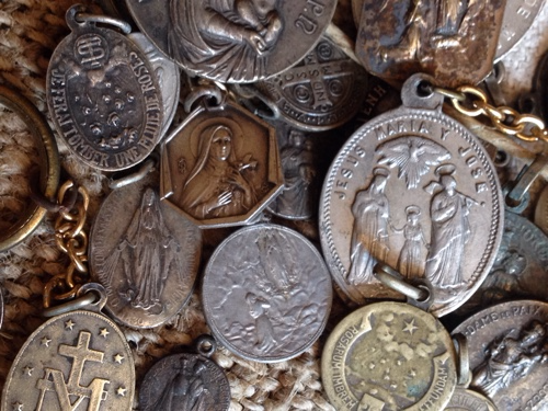 french antique medals