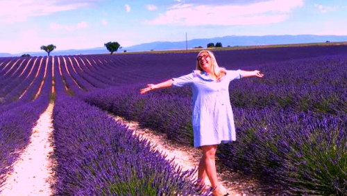Corey amaro lavender by Jan desmarais-Morse