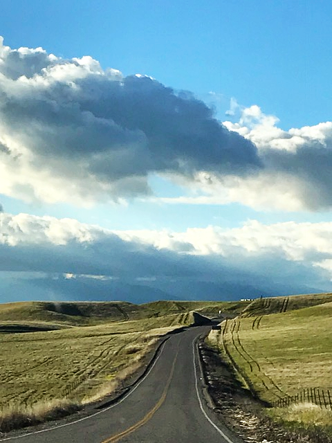 Long road through the black buttes