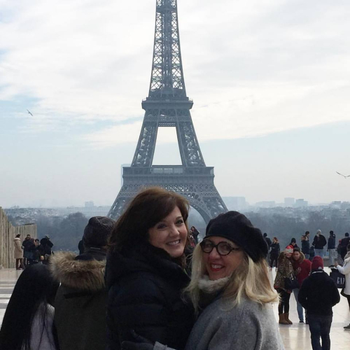 paris today #womensmarchonparis,corey amaro, living in france, eiffel tower Mari and Corey