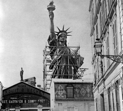 Liberty stands tall on foreign soil