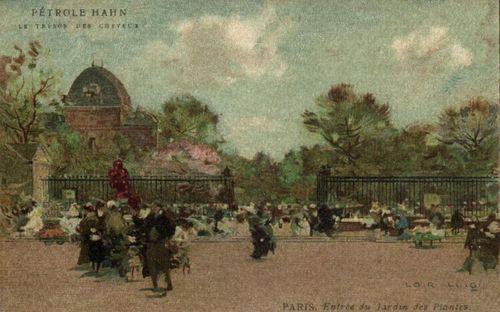 Luigi LOIR %22Les Champs Elysées  Paris