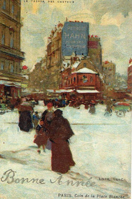 Petrole hahn Place Blanche carte postale