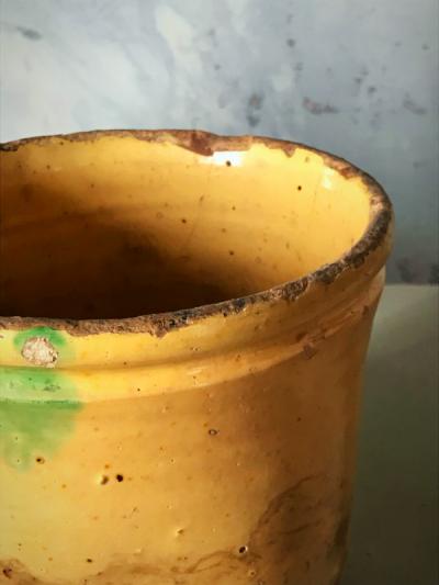 Provencal Yellow pottery