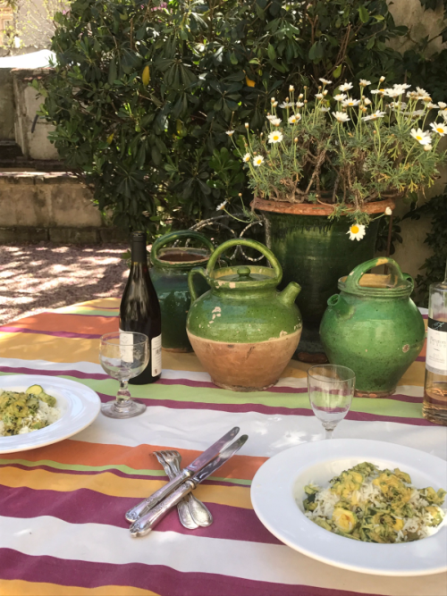Brocante, provence, easter, lunch