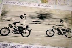 Honda ninety ride  George Amaro  Corey amaro