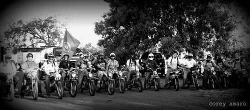 Honda ninety ride