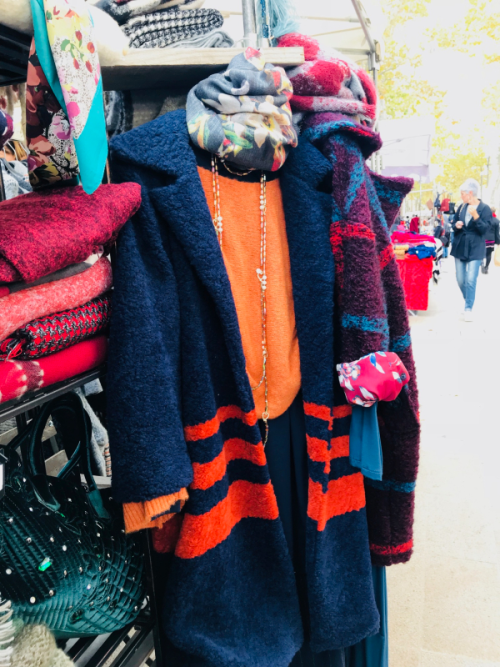 Corey Amaro, AIx en Provence, Market, Colorful clothing, Shopping, The French Muse