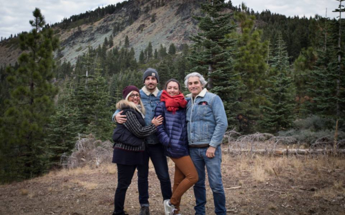 Family christmas willows