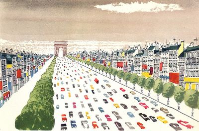 This is paris arc de triomphe