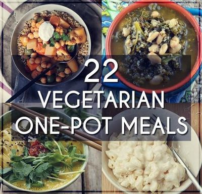 22 one pot meals vegetarian