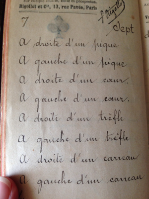 French Brocante: Handwritten Notes to Reading Cards
