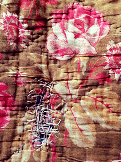 French Quilt darned corey amaro photograph