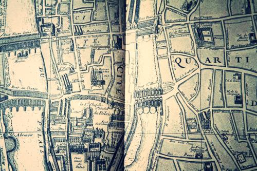 paris old map, corey amaro