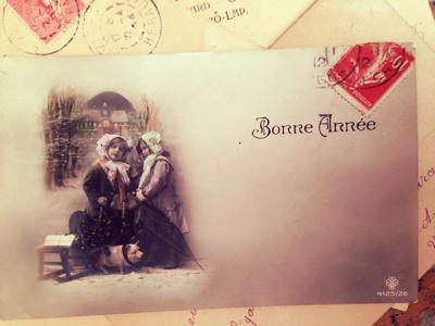 French Postcard brocante Corey Amaro