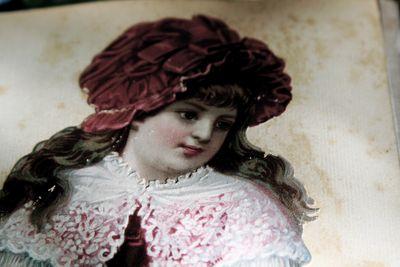 French Antique Christmas Postcard, corey amaro brocante collection