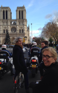 Bike Ride Christmas Paris