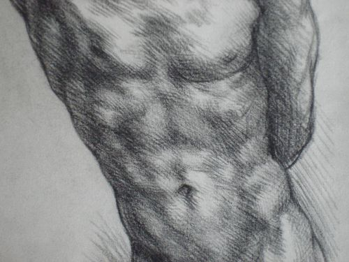 NUDE-MALE-STUDY-in-CHARCOAL-BY-SABATINO-ABATE-2