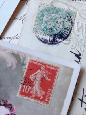 French Antique Postcard Corey Amaro Collectio