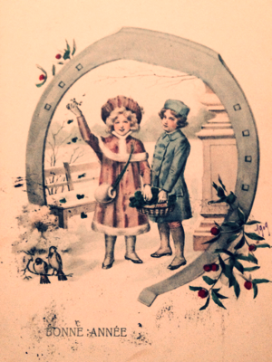 French Antique Postcard antique collection corey amaro