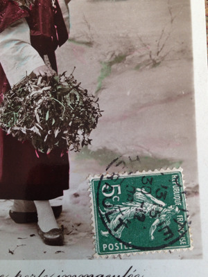 French Antique Postcard Corey Amaro