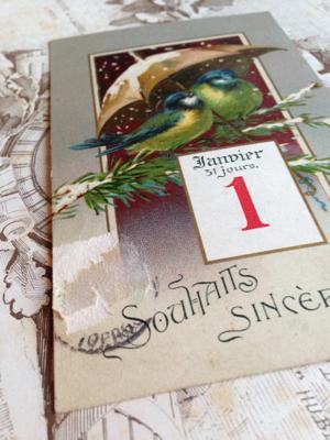 Number 55: French Antique Postcard corey amaro