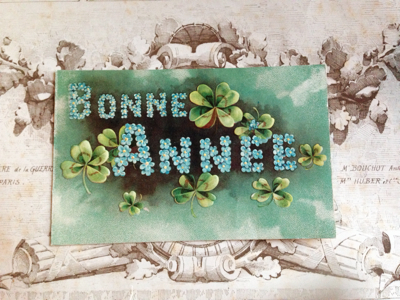 Number 56: French Antique Postcard Corey amao