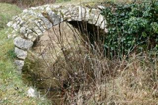 Stone bridge in provence