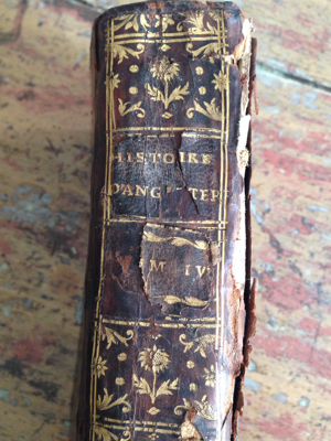 French Book History of England