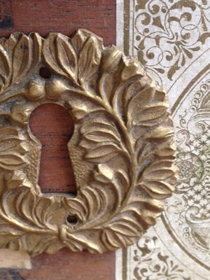 Bronze Lock Cover