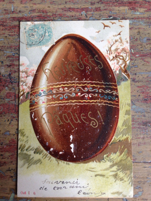 French Easter Postcard