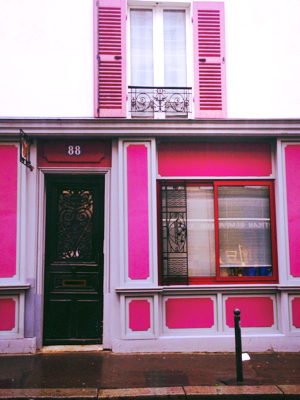 Store Fronts in Paris