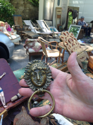 French Muse.... At the Brocante