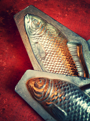 French Fish Chocolate Mold