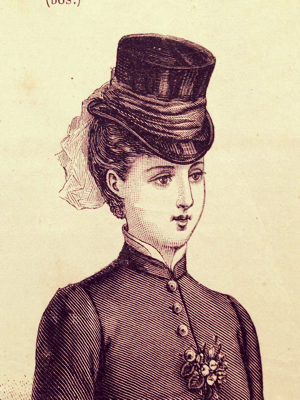 May 1881 french hats