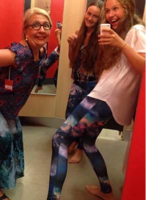 Dressing up in the Target Dressing Home