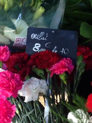 Flowers on the Street of Marseille
