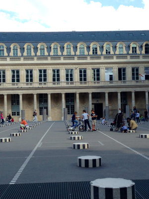 Palais Royal a Playground After School