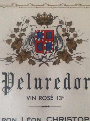 Set of Five Varied Wine Labels