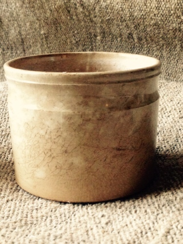 French creil jam pot
