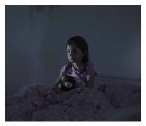 Fatima, 9, in Norberg, Sweden