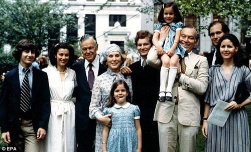 Estée Lauder's family